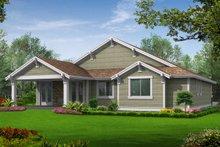 Home Plan - Craftsman Exterior - Rear Elevation Plan #132-196