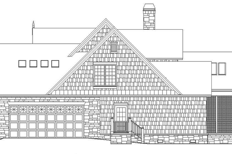 European Exterior - Other Elevation Plan #929-954 - Houseplans.com