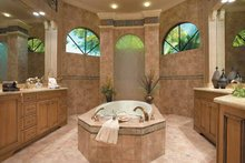House Plan Design - Mediterranean Interior - Master Bathroom Plan #930-328