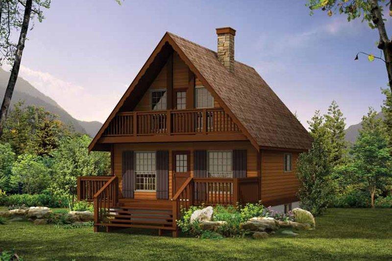 House Blueprint - Victorian Exterior - Front Elevation Plan #47-657