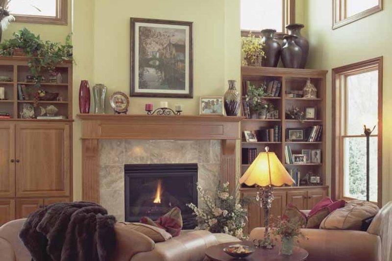 European Interior - Family Room Plan #51-638 - Houseplans.com