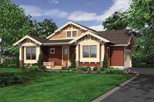 Craftsman Exterior - Front Elevation Plan #132-532