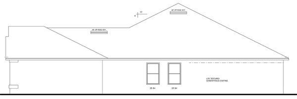 Traditional Floor Plan - Other Floor Plan Plan #1058-50