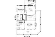 Cottage Style House Plan - 3 Beds 2.5 Baths 1915 Sq/Ft Plan #48-572 Floor Plan - Main Floor
