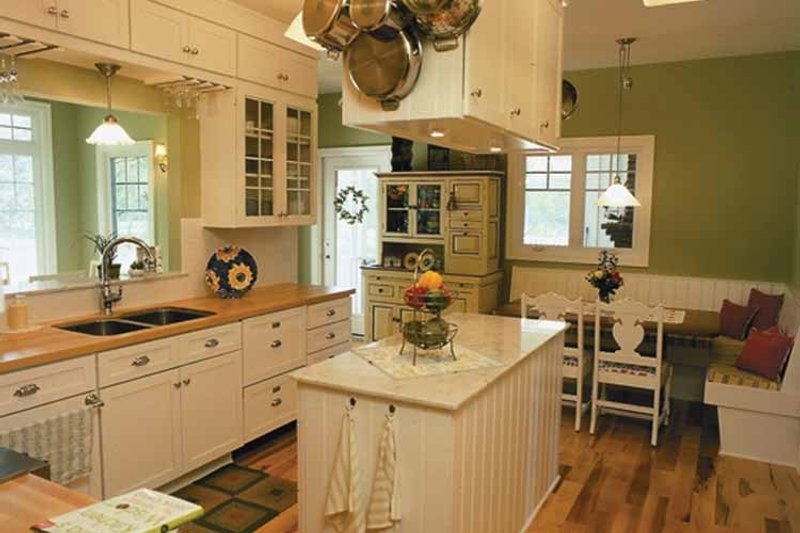 Country Interior - Kitchen Plan #928-47 - Houseplans.com