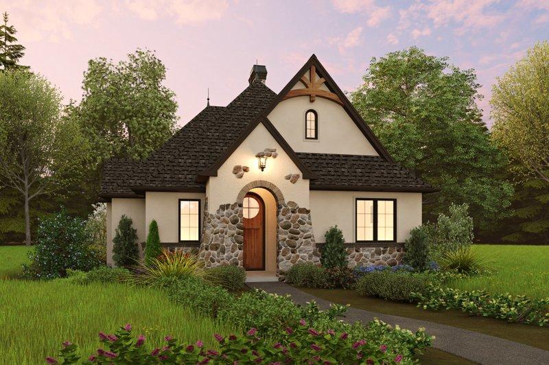 Home Plan - Cottage Exterior - Front Elevation Plan #48-1047