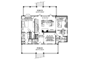 Colonial Style House Plan - 3 Beds 2.5 Baths 2152 Sq/Ft Plan #137-373 Floor Plan - Main Floor