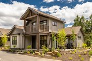 Craftsman Style House Plan - 2 Beds 2.5 Baths 1200 Sq/Ft Plan #895-118 Exterior - Other Elevation