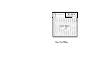 Modern Style House Plan - 2 Beds 1 Baths 798 Sq/Ft Plan #905-3 Floor Plan - Other Floor