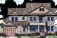 House Plan Design - Country Exterior - Front Elevation Plan #1007-58