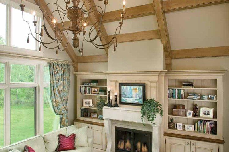 European Interior - Family Room Plan #928-16 - Houseplans.com