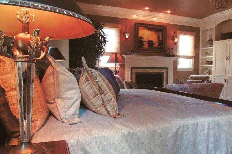 Country Interior - Master Bedroom Plan #453-403 - Houseplans.com