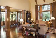 Architectural House Design - Traditional Interior - Family Room Plan #48-877