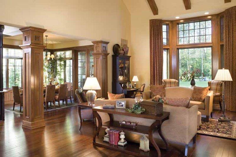 Traditional Interior - Family Room Plan #48-877 - Houseplans.com