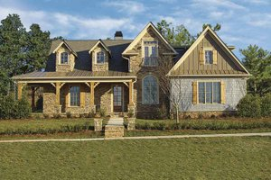 Home Plan - Victorian Exterior - Front Elevation Plan #54-259