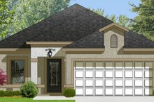House Plan Design - Adobe / Southwestern Exterior - Front Elevation Plan #1058-94