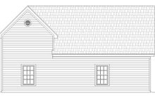 Country Exterior - Rear Elevation Plan #932-198