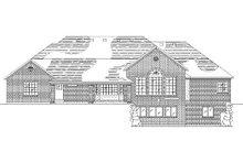 Home Plan - European Exterior - Rear Elevation Plan #5-312