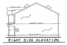 Home Plan - Traditional Exterior - Other Elevation Plan #20-2177