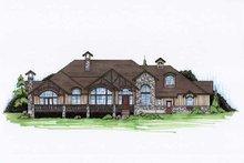 Dream House Plan - European Exterior - Front Elevation Plan #5-410
