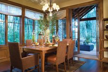 Architectural House Design - Traditional Interior - Dining Room Plan #48-877