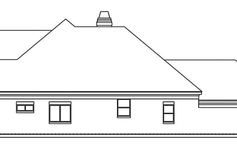 Country Exterior - Other Elevation Plan #946-8 - Houseplans.com