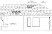 Mediterranean Style House Plan - 3 Beds 2 Baths 1807 Sq/Ft Plan #1058-37
