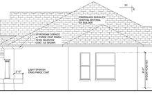 Home Plan - Mediterranean Exterior - Other Elevation Plan #1058-37