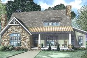 Country Style House Plan - 3 Beds 2.5 Baths 2637 Sq/Ft Plan #17-3381 Exterior - Front Elevation