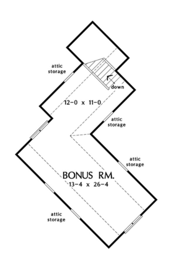 Home Plan - European Floor Plan - Other Floor Plan #929-903