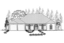 Southern Exterior - Other Elevation Plan #437-17