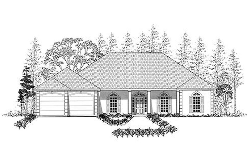 Southern Exterior - Other Elevation Plan #437-17 - Houseplans.com