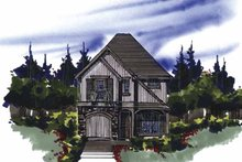 Traditional Exterior - Front Elevation Plan #509-147