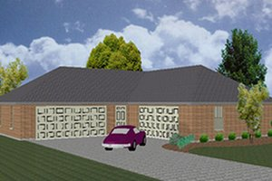 Traditional Exterior - Front Elevation Plan #84-468