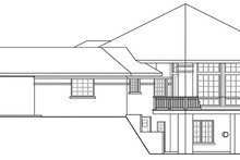 House Plan Design - Contemporary Exterior - Other Elevation Plan #124-850
