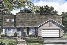 House Plan Design - Ranch Exterior - Front Elevation Plan #316-205