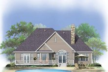 Dream House Plan - Craftsman Exterior - Rear Elevation Plan #929-767
