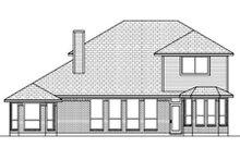 Home Plan - European Exterior - Rear Elevation Plan #84-462