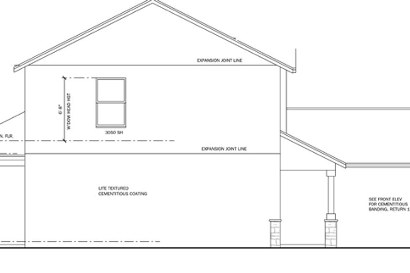 Traditional Exterior - Other Elevation Plan #1058-21 - Houseplans.com
