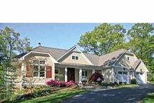Craftsman Exterior - Front Elevation Plan #928-223