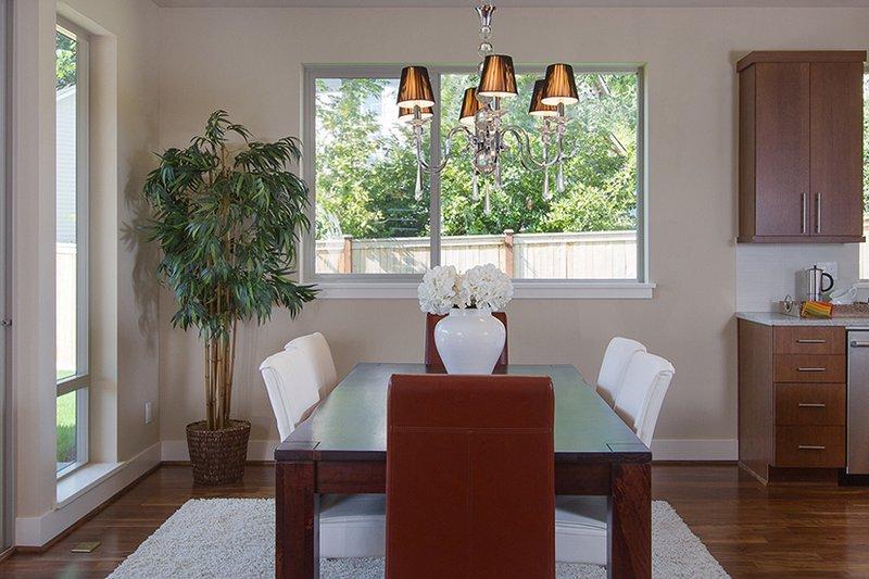 Contemporary Interior - Dining Room Plan #132-564 - Houseplans.com