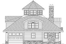 House Plan Design - Contemporary Exterior - Other Elevation Plan #1061-7
