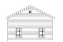 Dream House Plan - Country Exterior - Rear Elevation Plan #932-245
