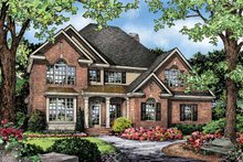 Traditional Exterior - Front Elevation Plan #929-842
