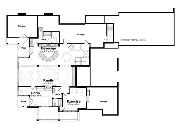 Home Plan - Optional Finished Basement