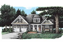 House Plan Design - Craftsman Exterior - Front Elevation Plan #927-173