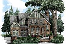 House Plan Design - European Exterior - Front Elevation Plan #927-484
