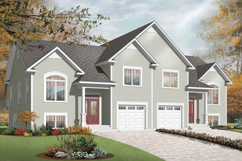 Ranch Exterior - Front Elevation Plan #23-2399 - Houseplans.com