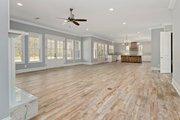 Farmhouse Style House Plan - 4 Beds 4.5 Baths 3860 Sq/Ft Plan #63-430 Interior - Family Room