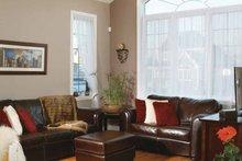 House Plan Design - Country Interior - Family Room Plan #23-2346